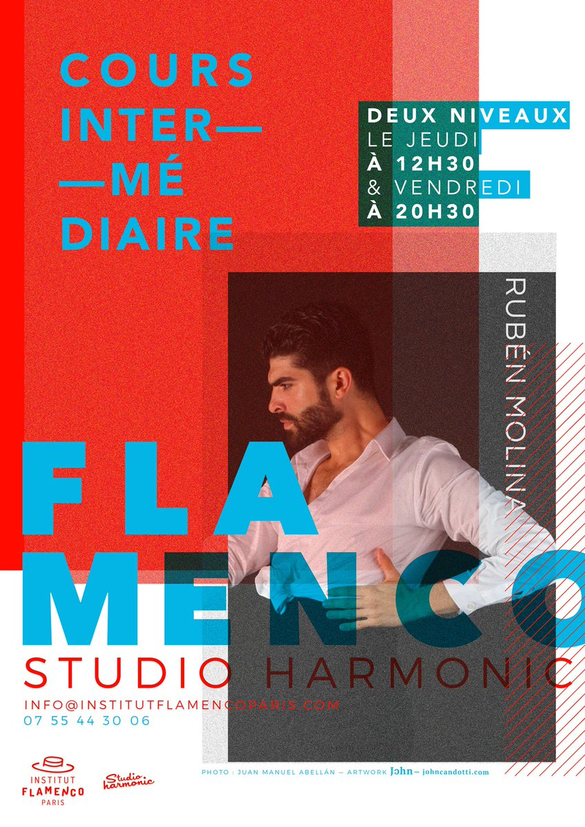 cours danse flamenco paris Ruben Molina